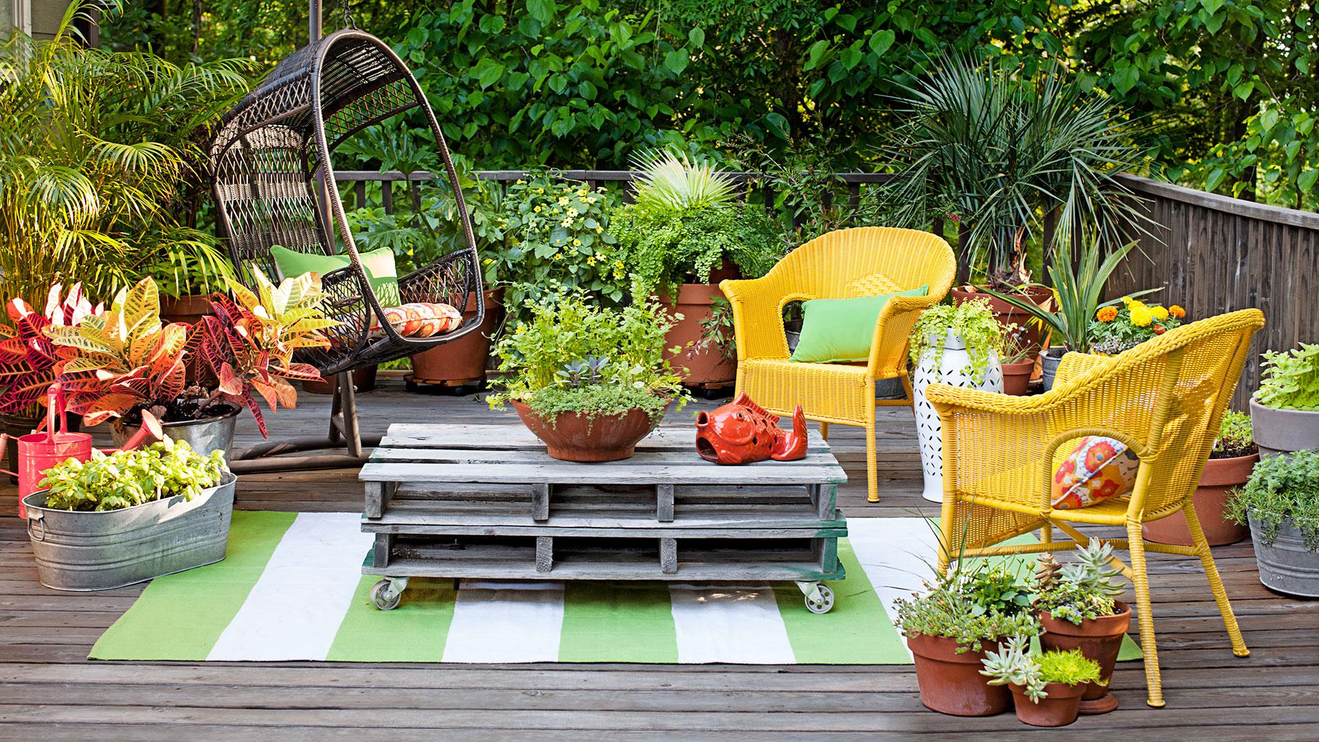 Идеи дизайна для сада и огорода своими руками