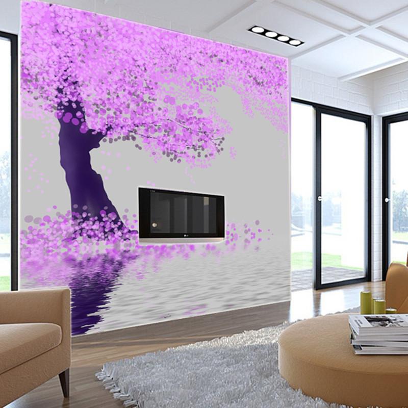 Wallpaper decoration 8 modern decoration designs - Schlafzimmer tapete modern ...